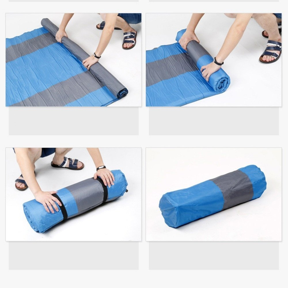 Showher Two Person 75.5'' Comfort Self Inflating Camp Pad with Pillow - Perfect Sleeping Pads for Camping, Backpacking, Hiking, Hammocks, Tents by Shwoher (Image #5)