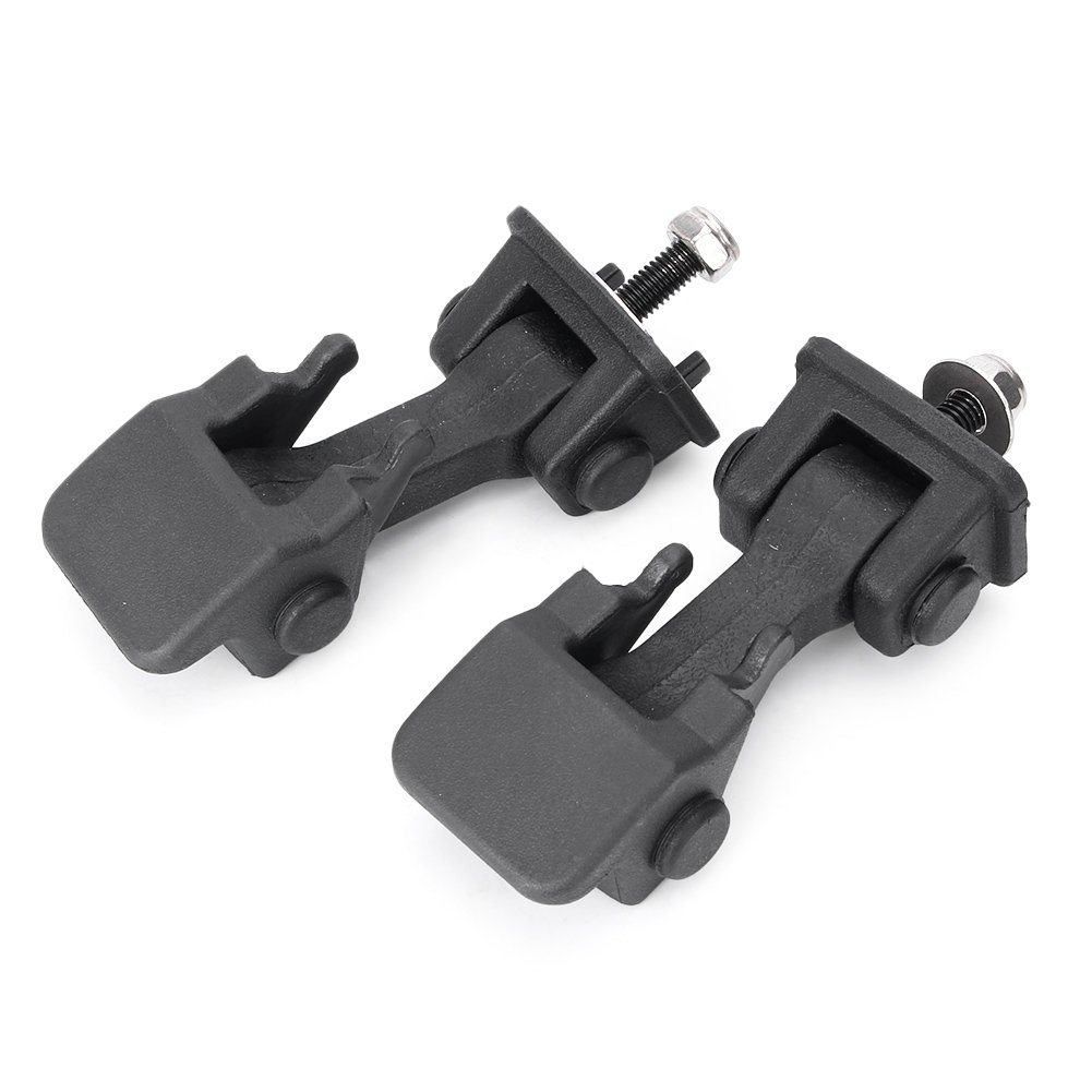 Timmart Lower Hood Latches & Upper Hood Catch Brackets For 1997-2006 Jeep Wrangler Tj by Timmart (Image #3)
