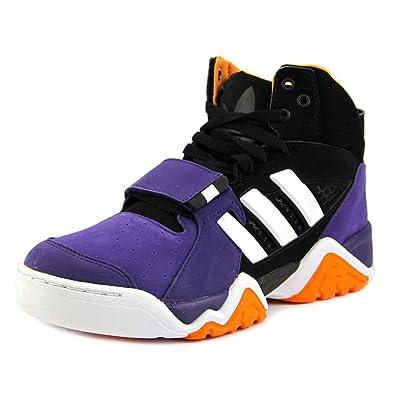 9b7f3441d2fd Adidas Streetball 1.5 Men Round Toe Synthetic Black Basketball Shoe