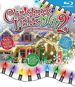 Christmas Lights 2-bigger Dazzling Displays Blu-ray by Music Video Dist
