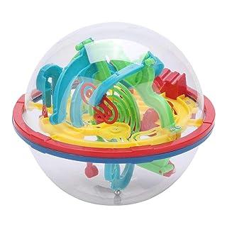 Intelletto 3D Maze Ball Puzzle Giocattoli Labirinto Sferici Gioco Puzzle Giocattolo Spazio Formazione Immaginazione Giocattolo Educativo Gioco Indipendente 100 Ostacoli Difficili Regalo Bambini
