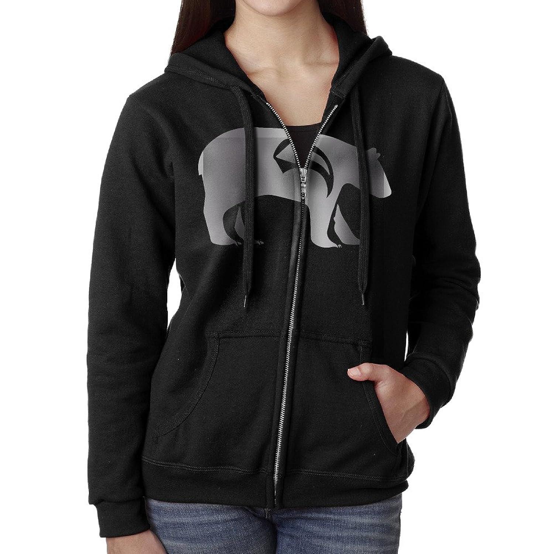70%OFF Women Native American Platinum Style Hoodie Sweatshirt Black
