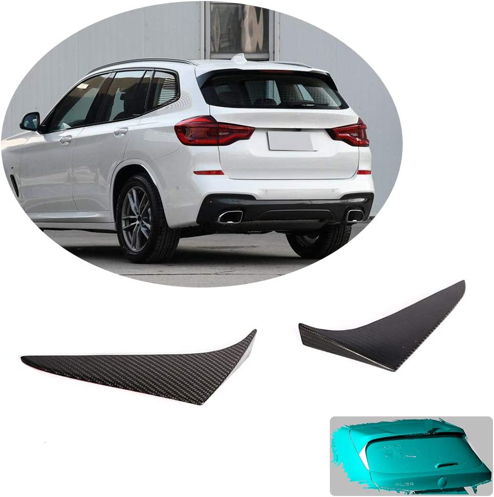 MCARCAR KIT Front Bumper Lip fits BMW X3 G01 M40i Sport Utility 4Door 2018-2020 Add-on Factory Outlet Carbon Fiber CF Chin Spoiler Splitter Protector