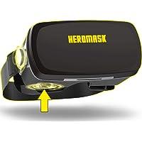 Heromask PRO - zestaw słuchawkowy do gier z rzeczywistości wirtualnej darmowy przewodnik gier VR. Przycisk gracza i…
