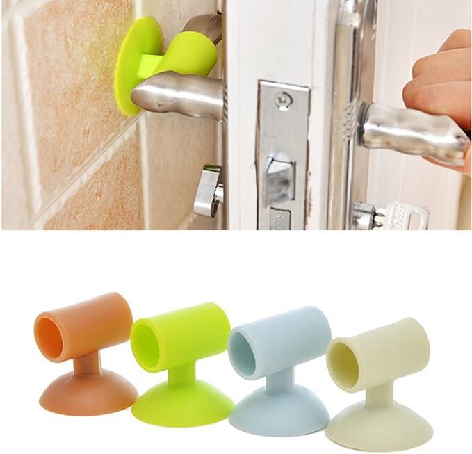 Details about  /De silicona de tapa de seguridad en el pomo de puerta de casa pomo de Protector