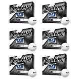 Srixon Q-Star Spin Skin Technology All-Ability Pure White Golf Balls, 6 Dozen