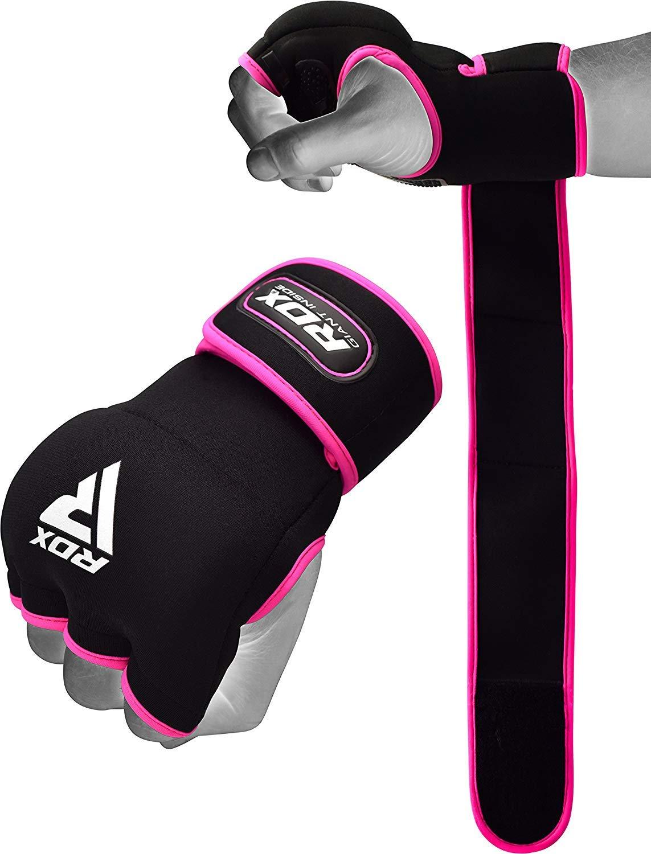 Caos in mano Wraps per la boxemano GEL PROTEZIONI nocche per Muay Thai MMA,