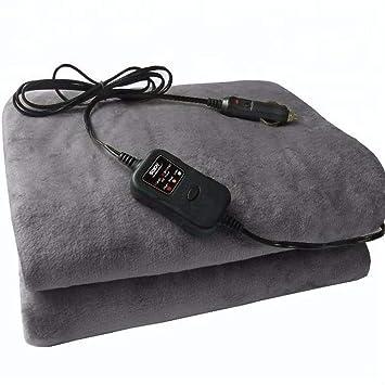 Manta eléctrica del coche del paño grueso y suave delinvierno Manta polar lujosa del paño grueso