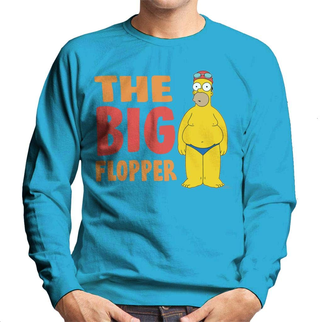 The Simpsons The Big Flopper Mens Sweatshirt