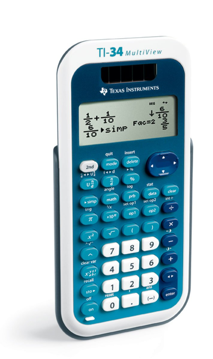 Texas Instruments (34MV/TBL/1L1) TI-34 MultiView Scientific Calculator by Texas Instruments (Image #2)