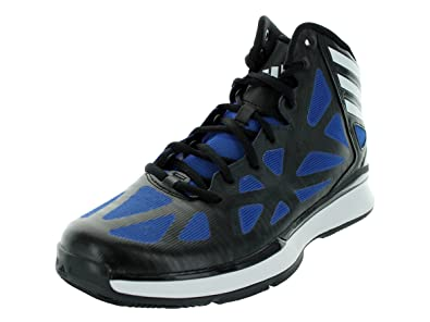 64f708d9b5ec adidas New Crazy Shadow 2 Black Blue Mens 7  Amazon.co.uk  Shoes   Bags