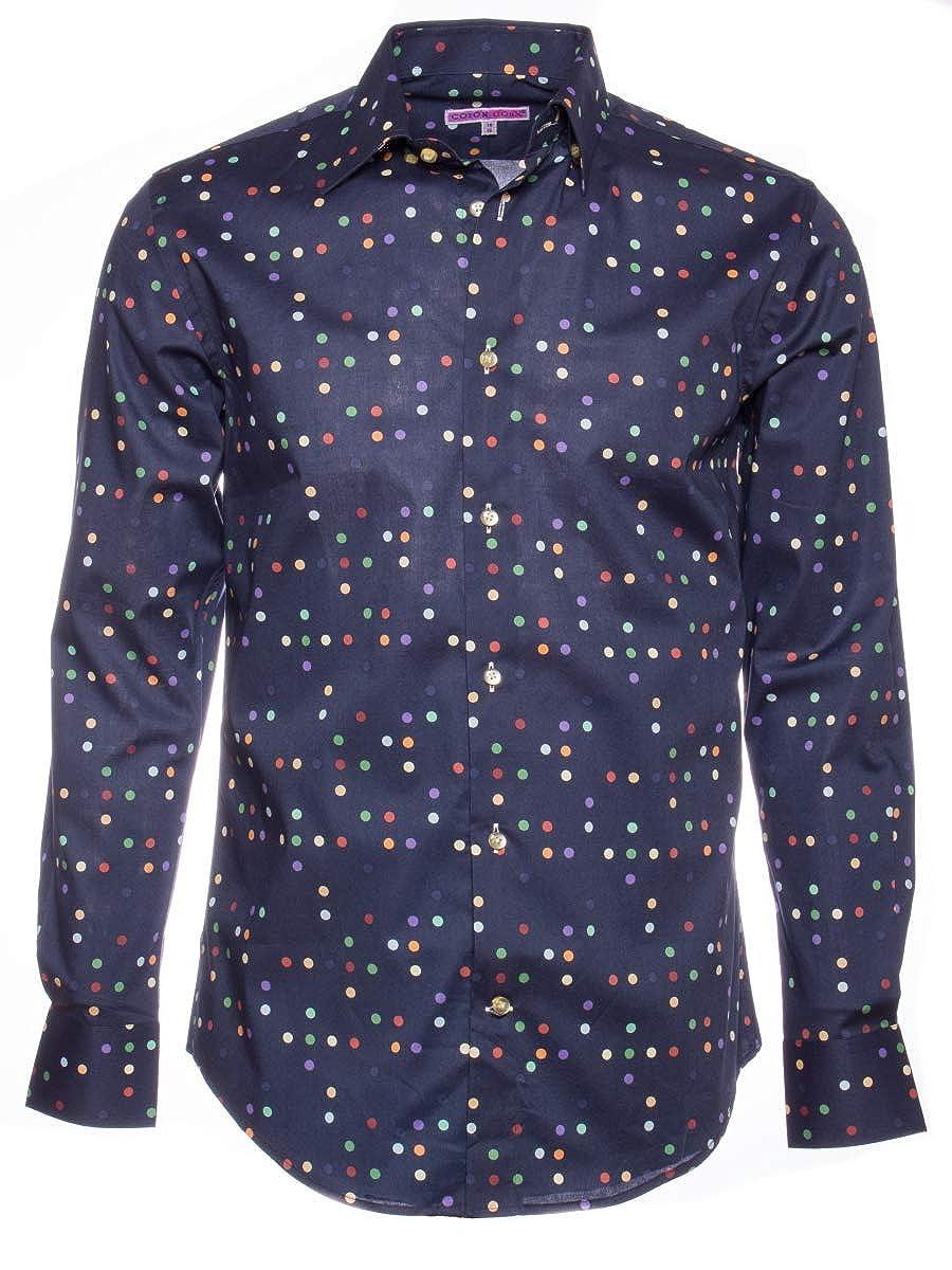 Coton Doux Mens Regular Shirt Blue D1568