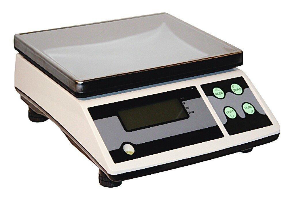 Akku-Tischwaage digital 30 kg mit Stückzählfunktion Waage