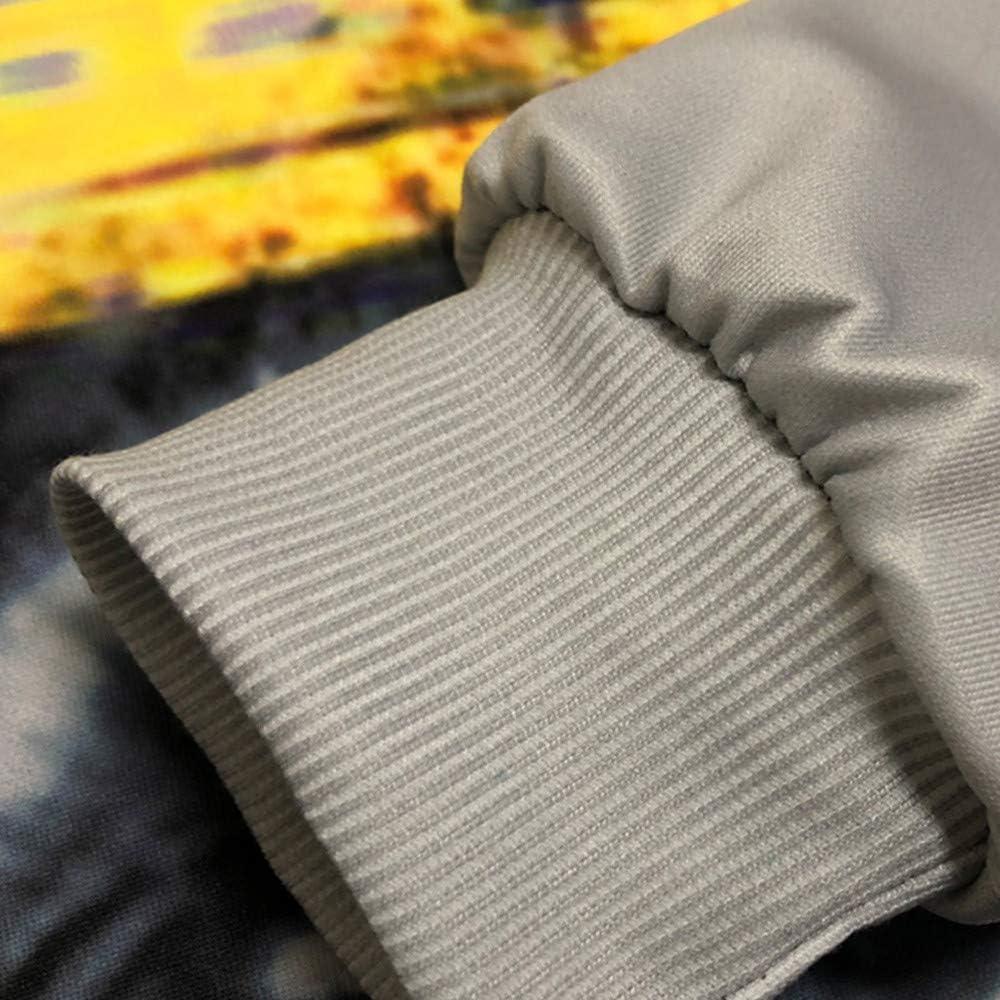 3D Print Hoodie,SFE Mens Autumn Winter Long Sleeve Pullover Hooded Sweatershirt Top Blouse