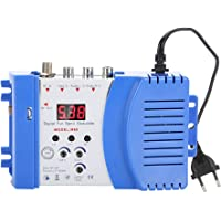 Eboxer Modulador de RF AV-RF AV-TV Señal Digital, Convertidor de VHF/UHF Amplificador Visual para Receptores de Satélite/Cámaras de Video/Videoconsolas/DVD, etc.(A)