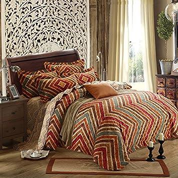 Yoyo Home 100 Pakistan Baumwolle Stickerei Bettwasche Set Bettbezug