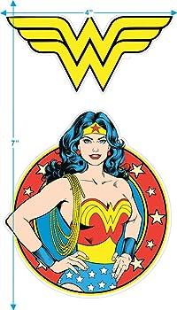 Wonder Woman Round Logo DC Comics Movie Super Hero,T Shirt Childrens Kids Size
