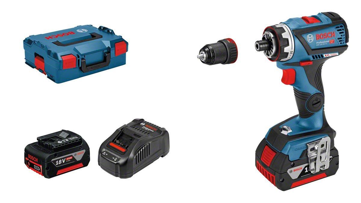 Perceuse-Visseuse sans Fil GSR 18/V 60/FC 2/x 5,0/Ah Batterie, 18/V, Vis de /∅ Max.: 10/mm, Couple Max.: 60/Nm, dans Coffret L-Boxx