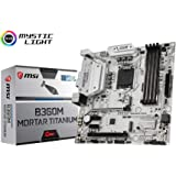 MSI MB B360M Mortar Titanium Soket 1151 DDR4 2666 DVI VGA HDMI USB3.1 mATX