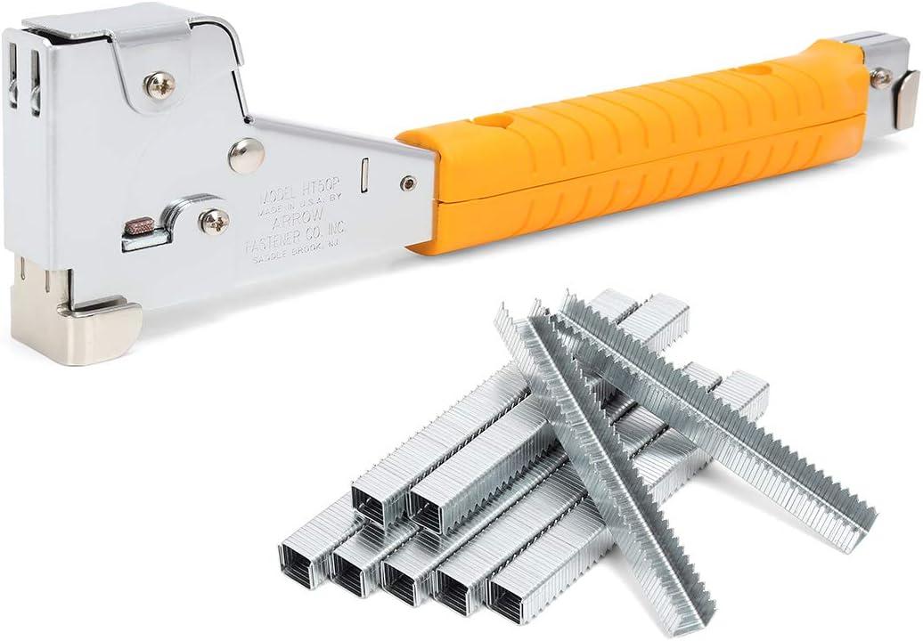 ARROW Hammer Tracker Kit, Heavy Duty, HT50 with 1250 Staples