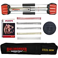 """Bullworker 20"""" Steel Bow - Full Body Workout - Portable Home Gym Isometric Exercise Equipment for Fast Strength Training…"""