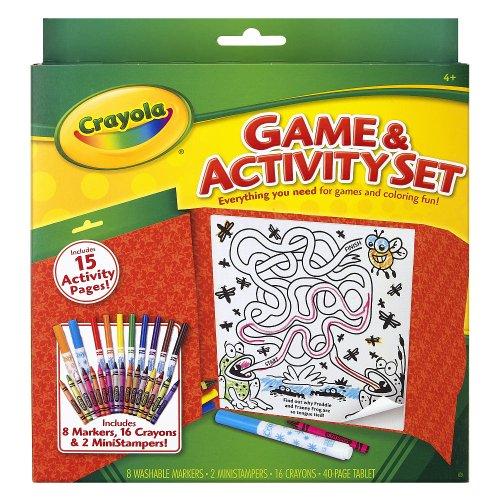 Crayola Game Activity Set Everything