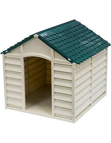 AVANTI TRENDSTORE-caseta para perro para perros beige, verde, 71 x 68 x