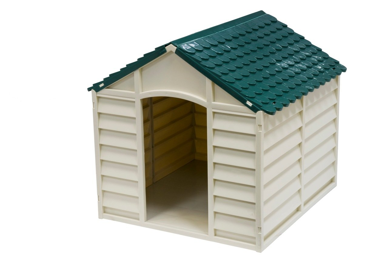 AVANTI TRENDSTORE - Cuccia per cani beige verde, ca. 71x68x71cm