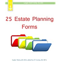 25 Estate Planning Forms: Legal Self-Help Guide