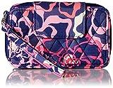 (US) Vera Bradley Smartphone Wristlet 2.0 Wallet, Katalina Pink, One Size