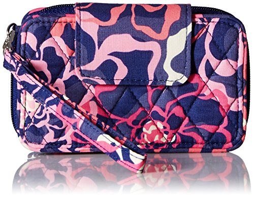 (Vera Bradley Women's Smartphone Wristlet 2.0, Katalina Pink, One Size)