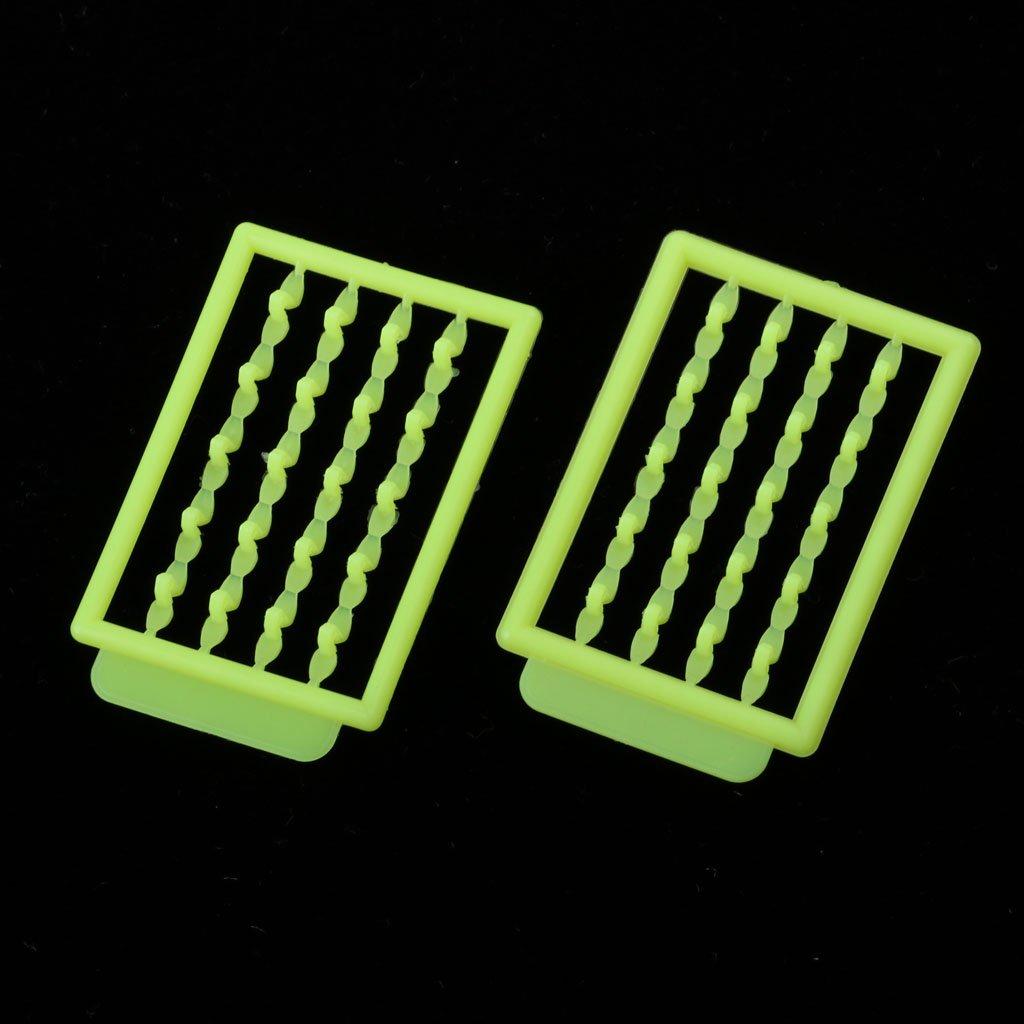10pcs Plastic Boilie Stopper Bait Stops Carp Fishing Fishing Elastic Bands