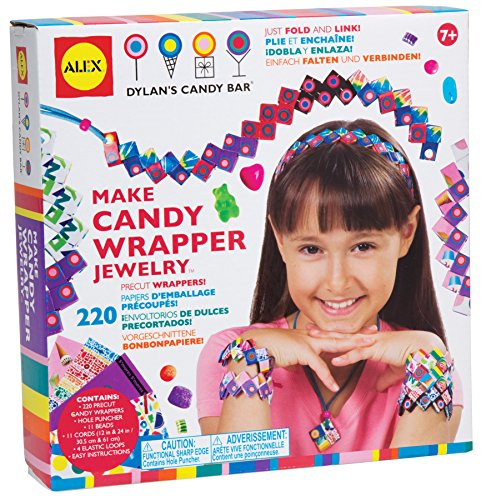ALEX Toys Dylan's Candy Bar Make Candy Wrapper Jewelry