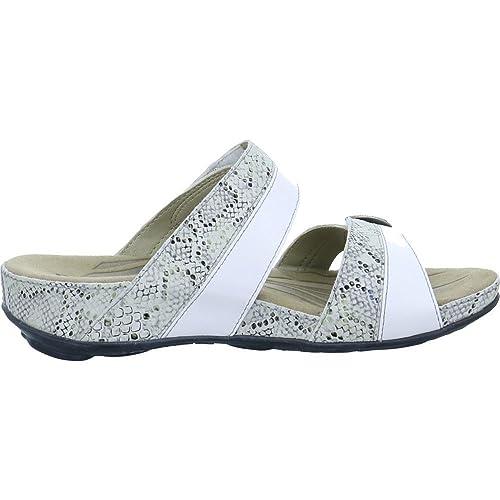 66723ac735711a Romika Womens Fidschi 22 White Leather Sandals 37 EU