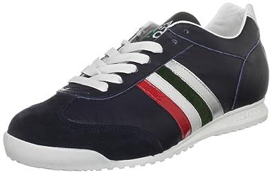 aa9756504c64c Serafini Sport Unisex-Adult Heritage Italia Bluette Trainer 1732 10 UK, 43  EU