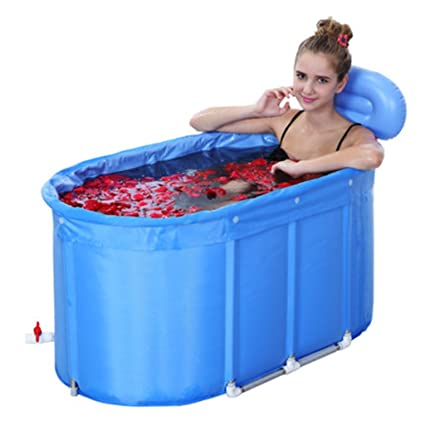 Bathtub Adult Folding Portable Tub Large Space Thicken Cotton