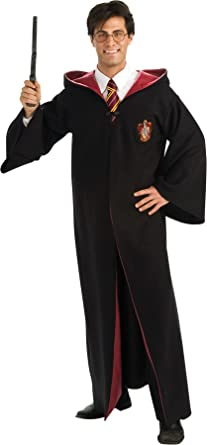 ultimate halloween costume uhc mens deluxe gryffindor robe wizard harry potter fancy costume standard
