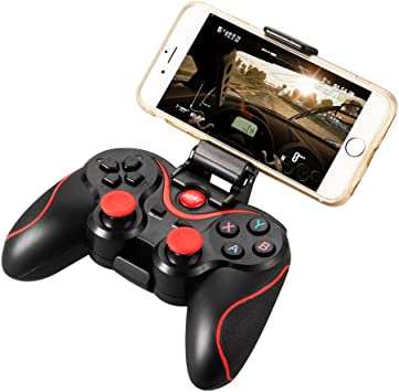 XCSOURCE® inalámbrico Bluetooth Gamepad Game Controller Negro con ...