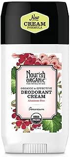 product image for Nourish Organic | Organic Deodorant - Geranium | GMO-Free, Cruelty Free, Organic (2oz)