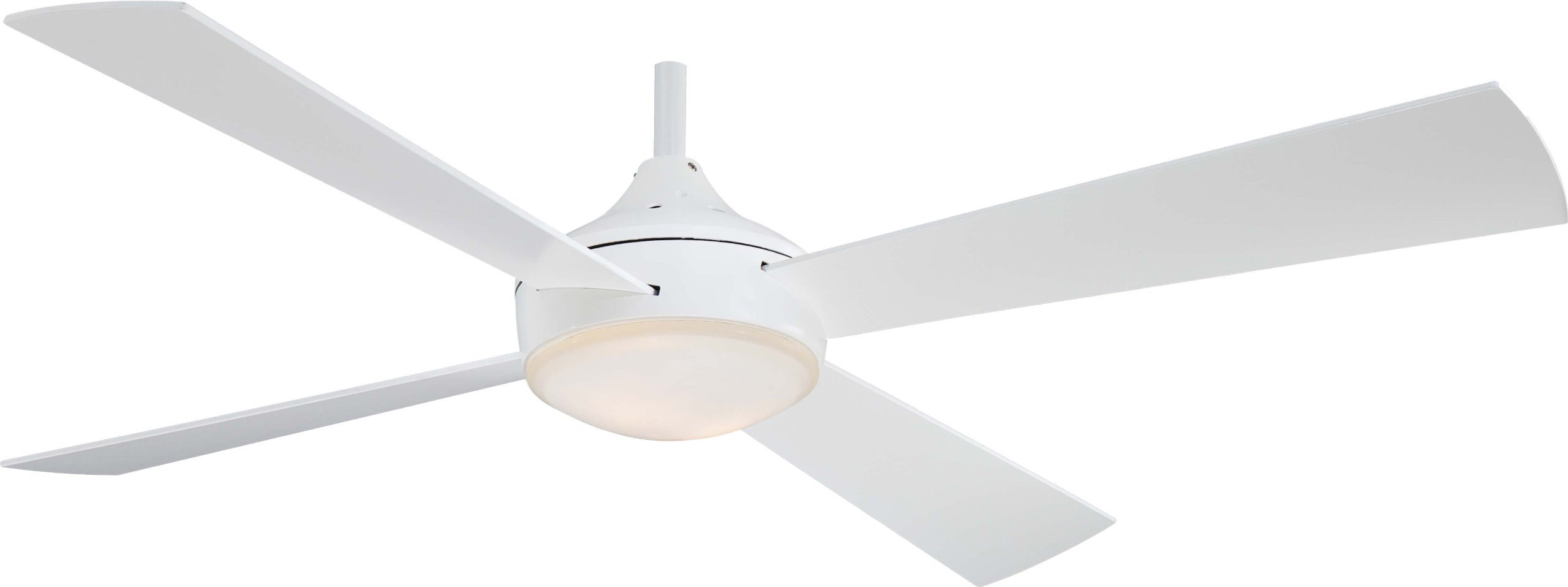 Minka-Aire F521-WHF, Aluma, 52'' Ceiling Fan, White by Minka-Aire