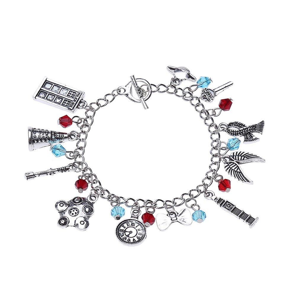 Lureme Doctor Who Bracelet DW Themed Charm Bracelet Cosplay Jewelry (bl003117) Yida bl003116