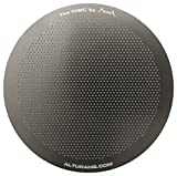 Altura Stainless Steel, Washable and Reusable Disc Filter with eBook for AeroPress Coffee