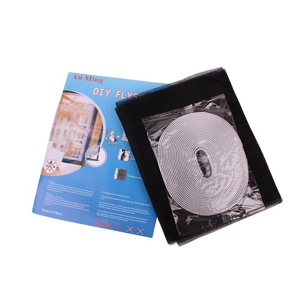 Kitchen Blanc 150/x 130/cm Moustiquaire pour fen/être moustiquaire avec Bande Velcro Invisible /à Voile Rideau pour fen/être pour Protection de Insectes et moustiques