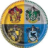 Unique Party 59105 - 23cm Harry Potter Party Plates, Pack of 8