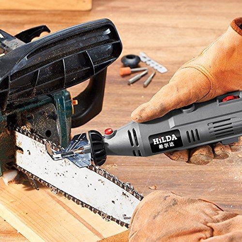 Chain Saw Sharpening Attachment Sharpener Guide Drill - Chain Sharpener Chainsaw