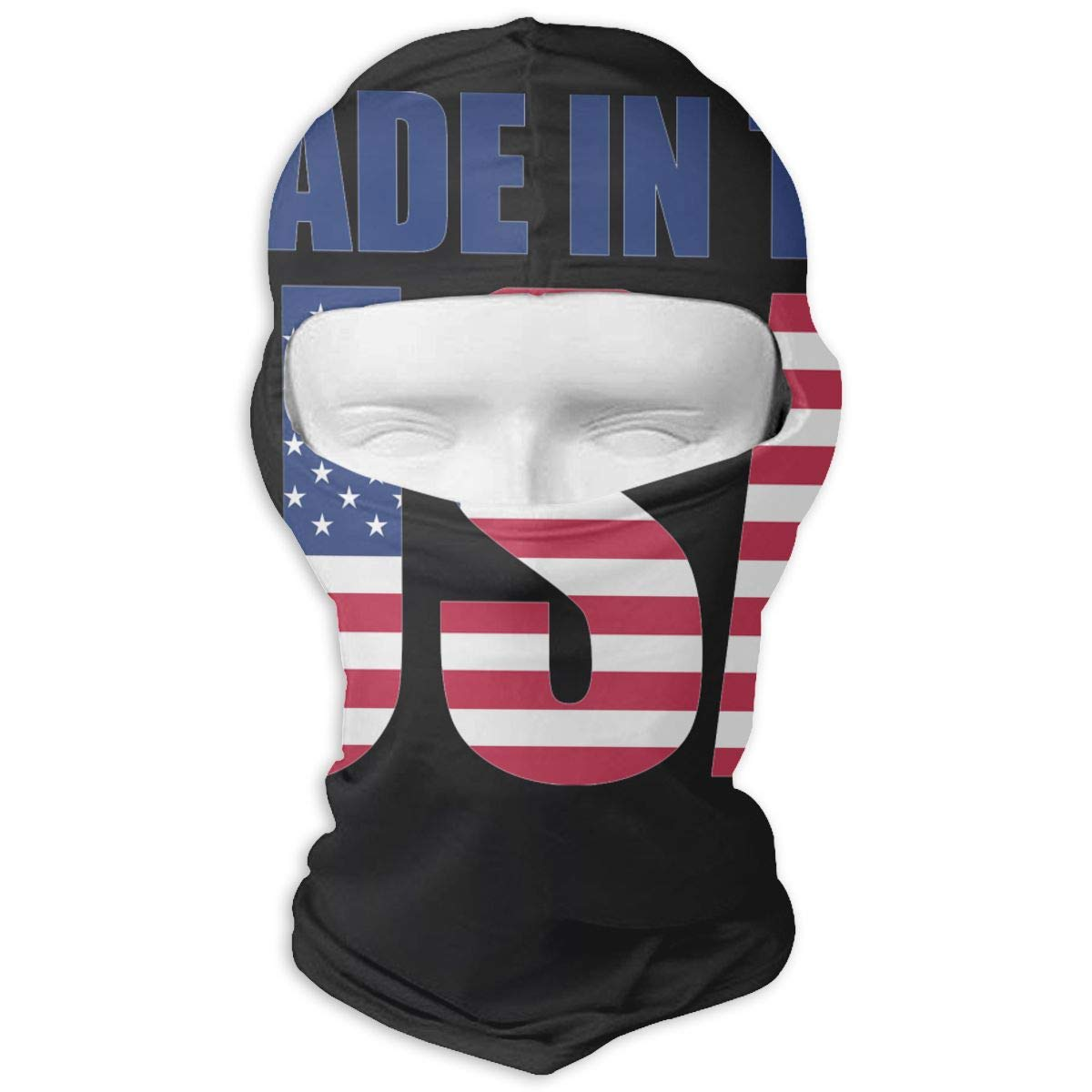 LaoJi Made in The USA Winter Ski Mask Balaclava Hood - Wind-Resistant Face Mask