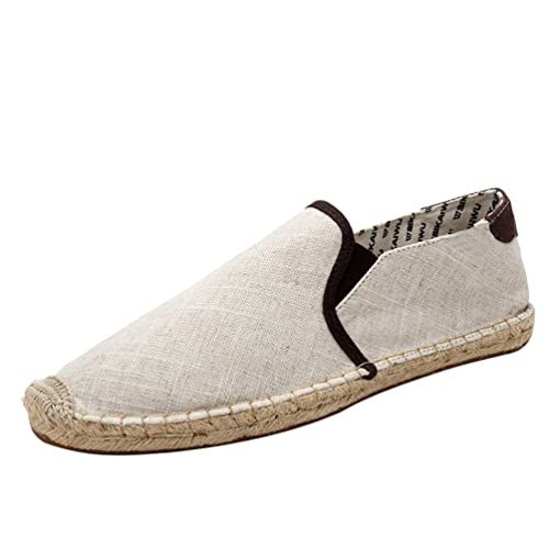 Lvguang Zapatillas Moda Alpargatas Slip-on Mujer Costura Pespunte Zapatos de Barco: Amazon.es: Zapatos y complementos