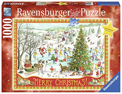 Ravensburger Winter Wonderland 1000 Piece Jigsaw Puzzle Adults – Every Piece is Unique, Softclick Technology Means Pieces Fit Together Perfectly