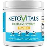 Keto Vitals Electrolyte Powder | Keto Friendly Electrolytes with Potassium, Magnesium, Sodium & Calcium | Keto Electrolytes S