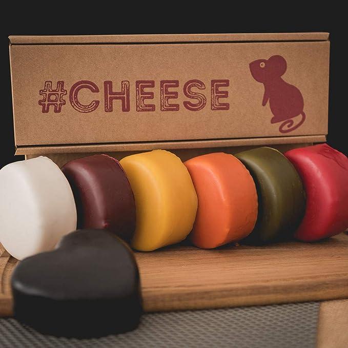 Cheese Rainbow Box - 7 Cheese Gift Box: Amazon.co.uk: Grocery
